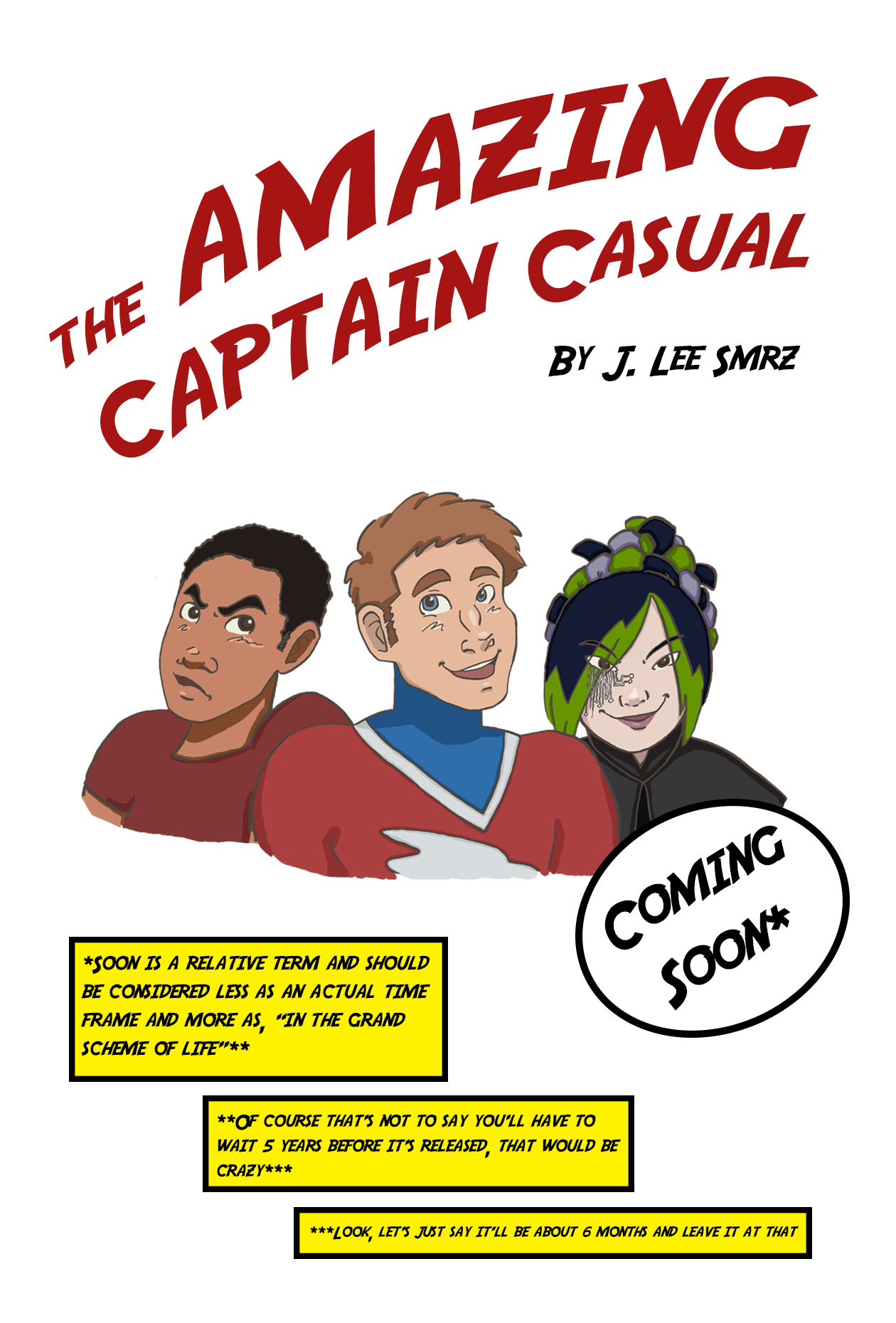Captain Casual Trio Promo