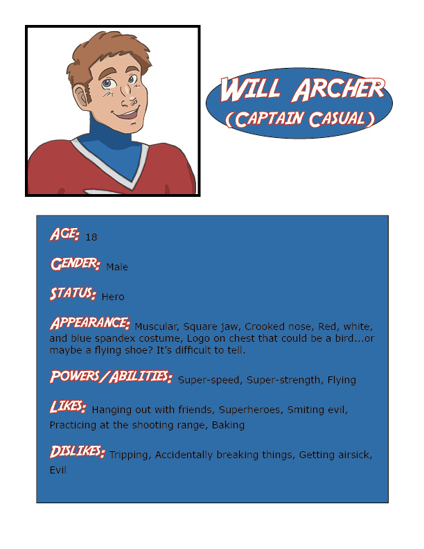 Will Archer Character Bio