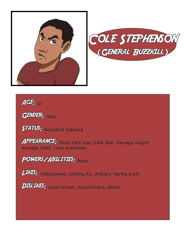 Cole Character Bio